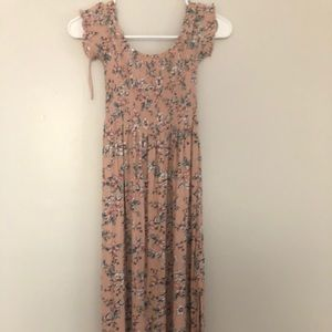Off the shoulder aeropostale dress